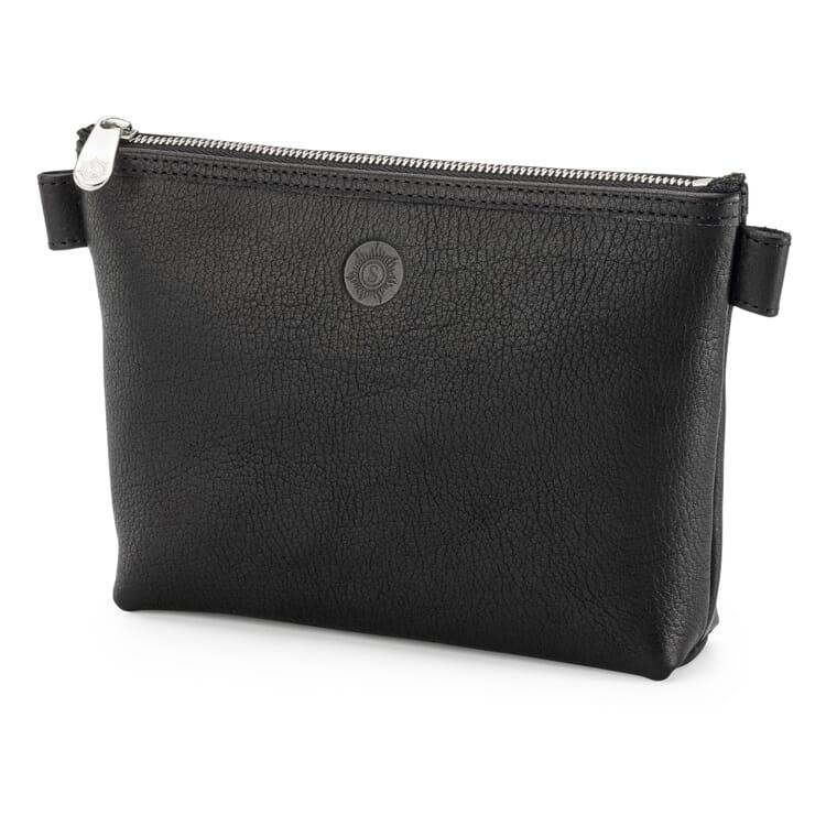 Sonnenleder Cosmetic Bag, Black