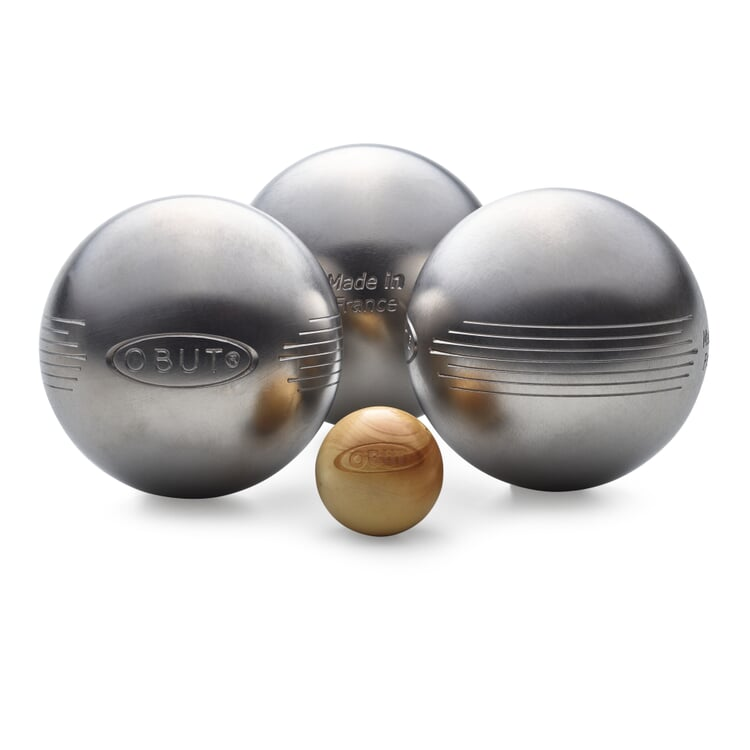 Boules Balls for Leisure Sports with engraved stripes