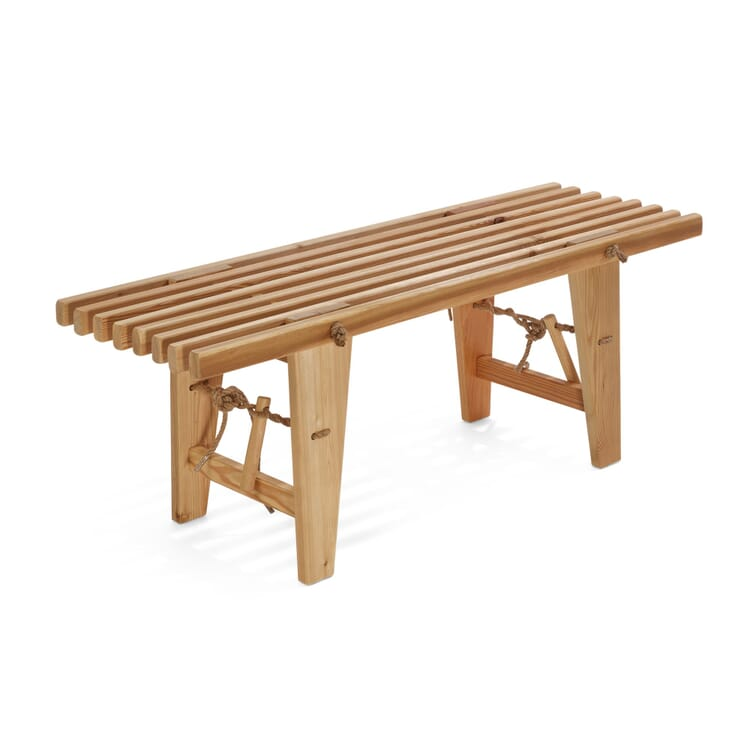 Garden Bench Made of Larch Wood