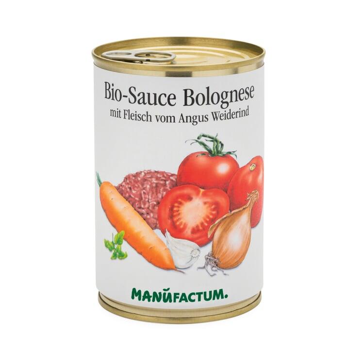 Bio-Sauce Bolognese mit Fleisch vom Angus Weiderind