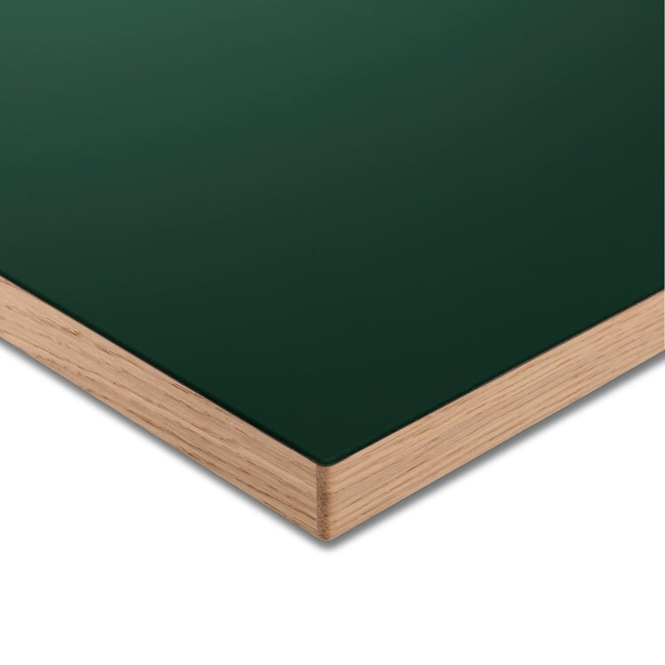 Tischplatte LTL Linoleum Dunkelgrün