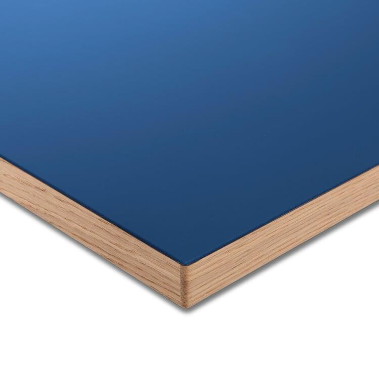 Tischplatte LTL Linoleum Blau