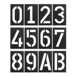 Industrial House Number by Spiekermann Black Grey