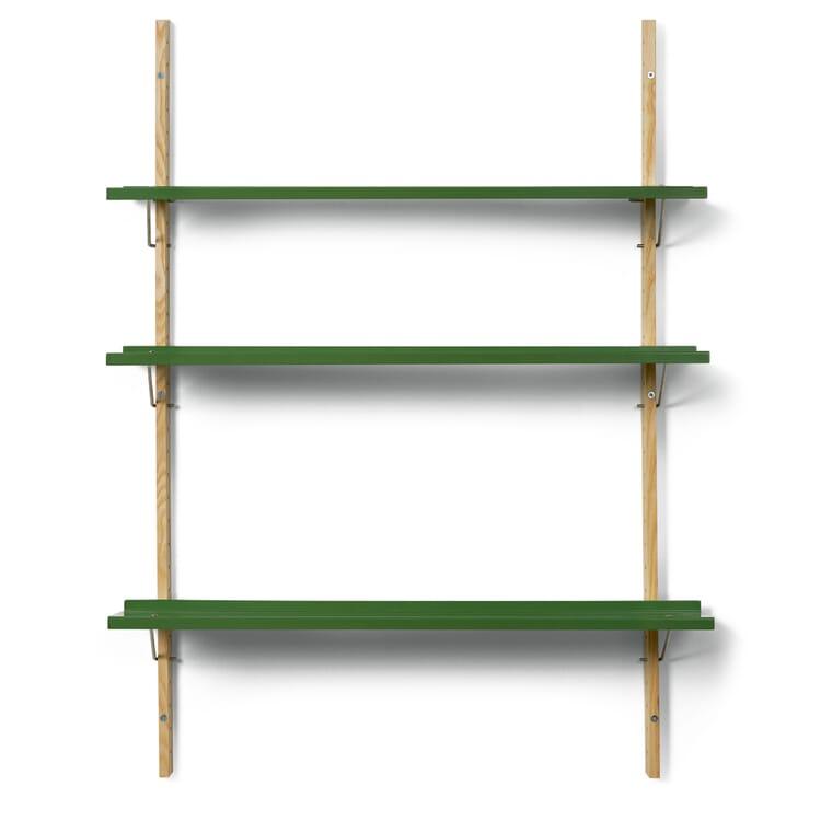 Wall Shelf RM3, Reseda Green RAL 6011