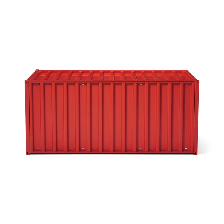 Container DS, Tomato Red RAL 3013