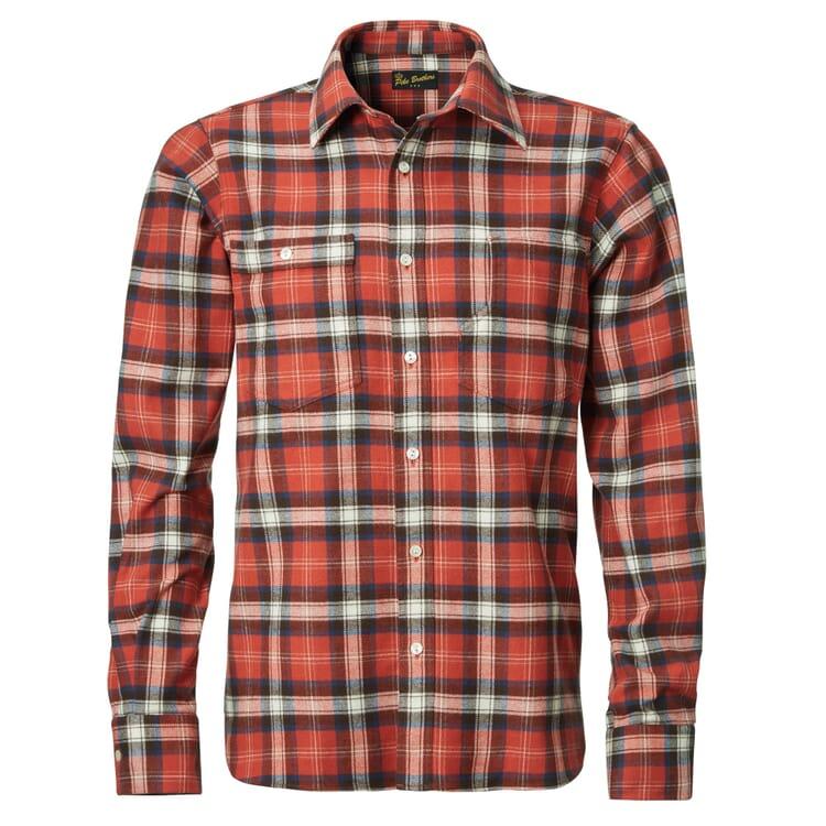 Pike Brothers 1937 Roamer Shirt, Rot kariert