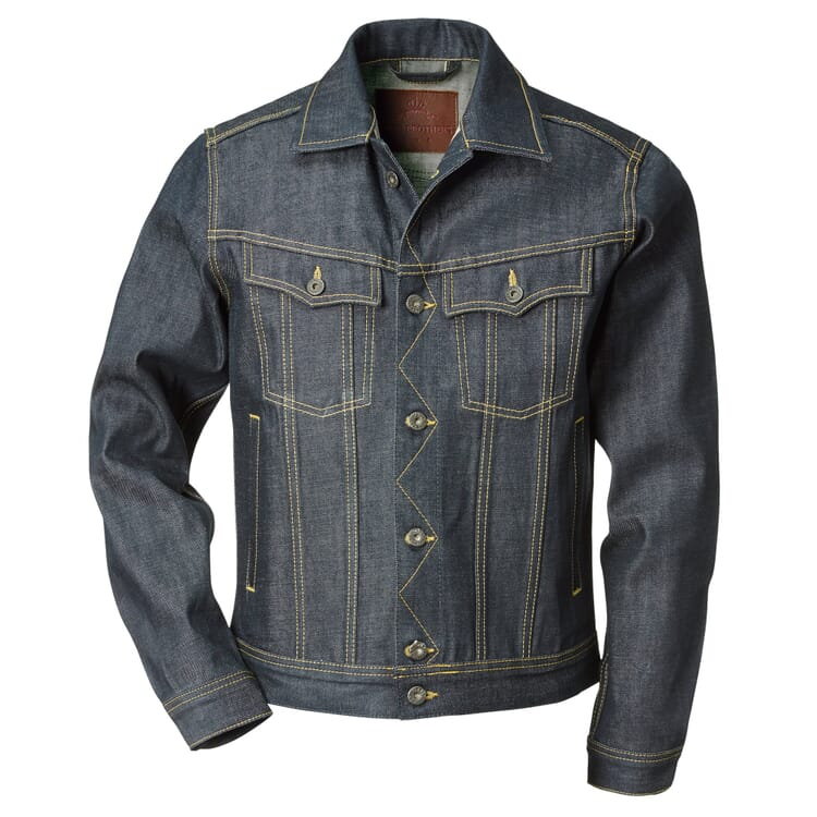 Roamer Jacket 1963 by Pike Brothers, Denim Blue