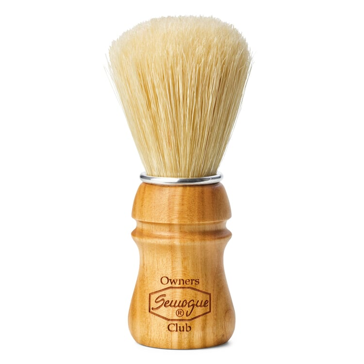 Shaving Brush with Pig Bristles