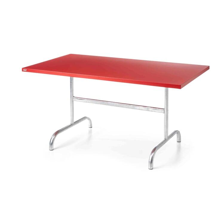 Tisch Säntis, rechteckig Rot