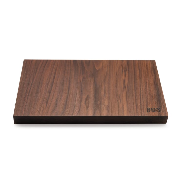 Cutting Board Made from Solid Wood by BOOS, Walnut Wood
