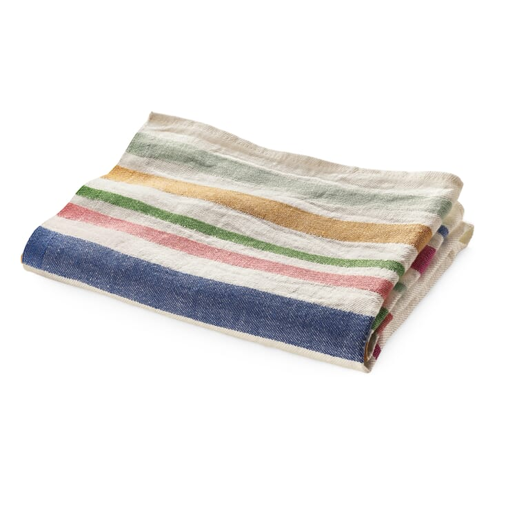 Kitchen Towel with Coloured Stripes