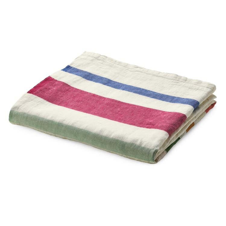 Tablecloth with Coloured Stripes