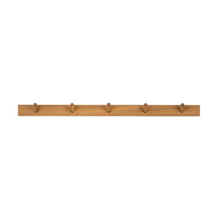 Coat Hook Bar Made of Oak Wood