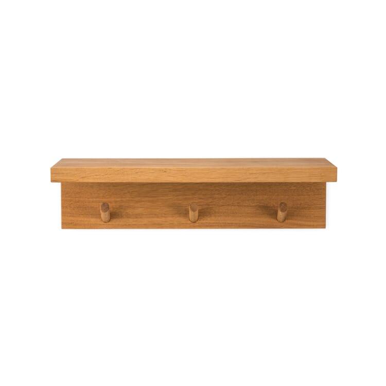 Konsole mit Hakenleiste Eichenholz