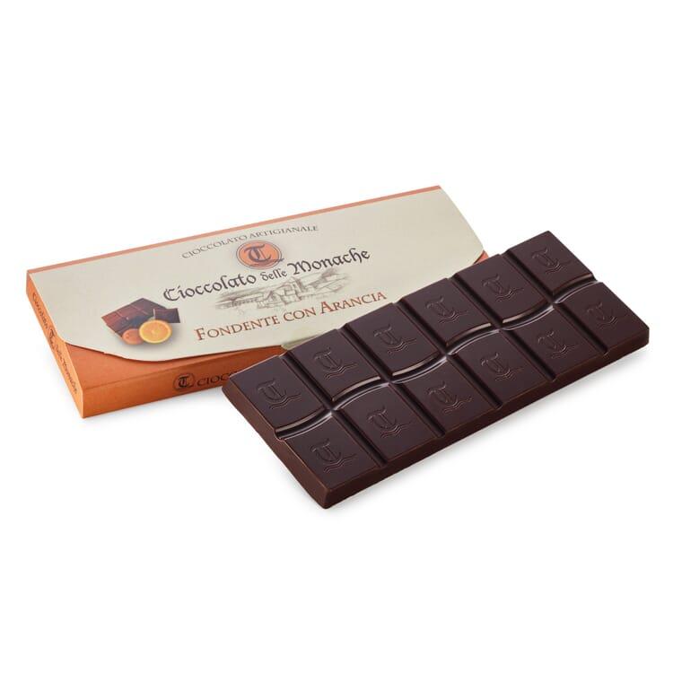 Zartbitterschokolade mit Orange