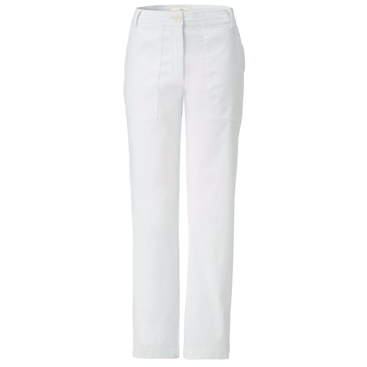 Lanius Damen-Cargohose, Weiß