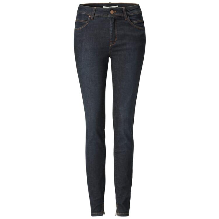 Lanius Damen Jeans, Dunkelblau