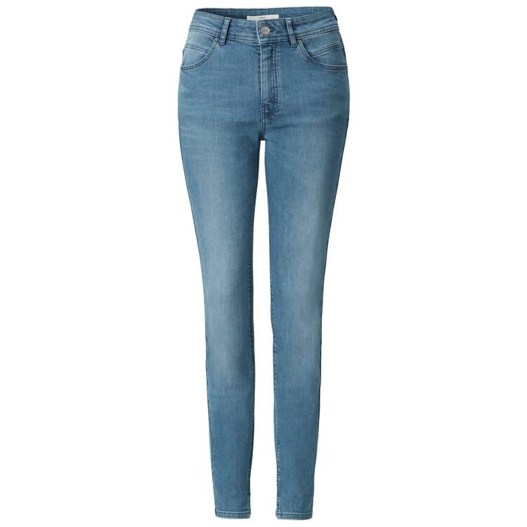 Lanius Damen Jeans, Mittelblau