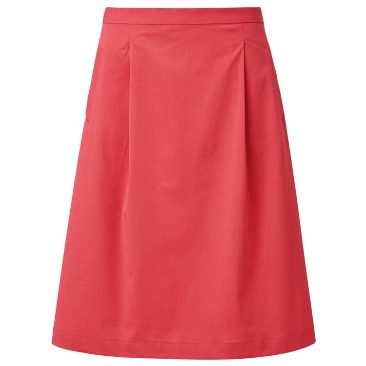 Lanius Damenrock mit Taschen Rot