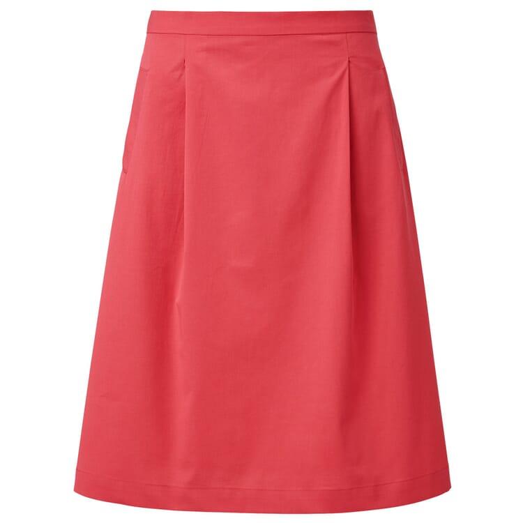 Lanius Damenrock mit Taschen, Rot