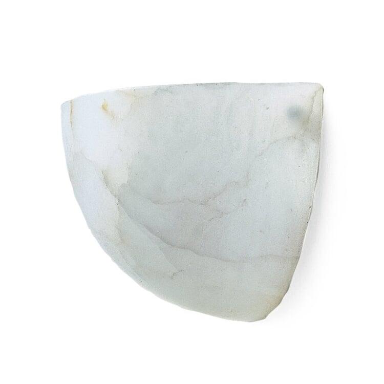 Alabaster Wall Light Flat