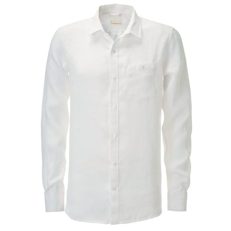 Knowledge Cotton Apparel Herren-Leinenhemd