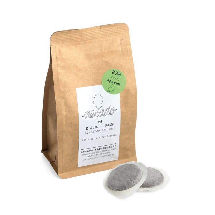 E.S.E.-Pads zu Kaffeepadmaschine Flytek Eco Zip