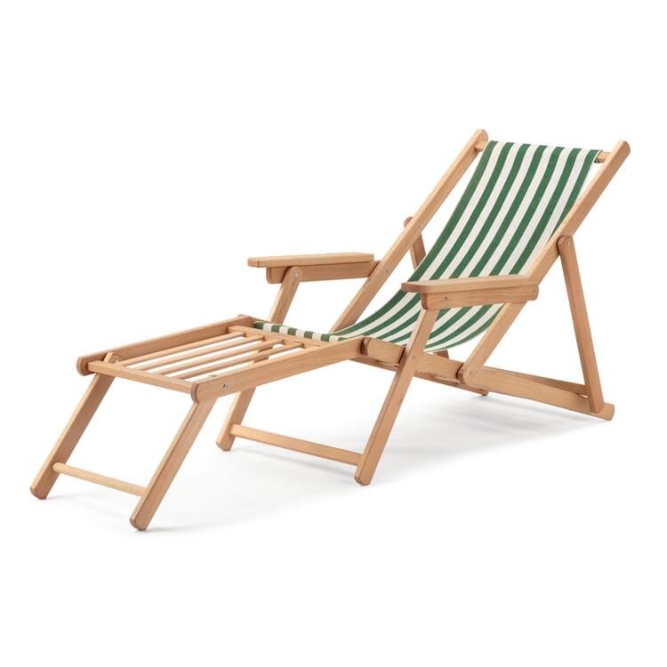 Beach Chair Made of Beech Wood by Manufactum