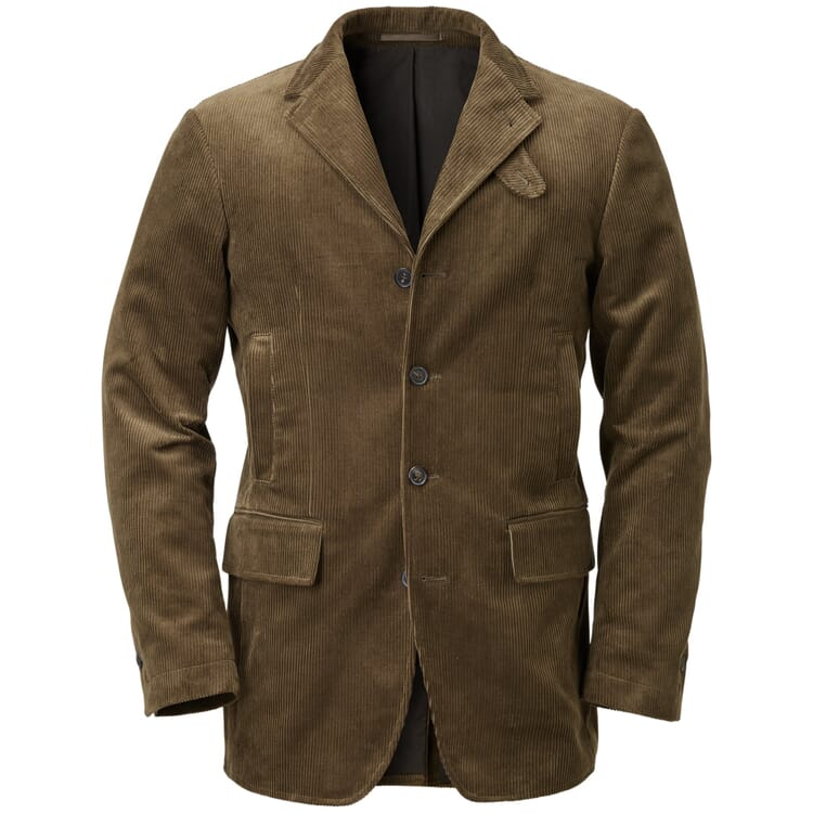 Men's Sports Jacket Madeof Corduroy by Kastell