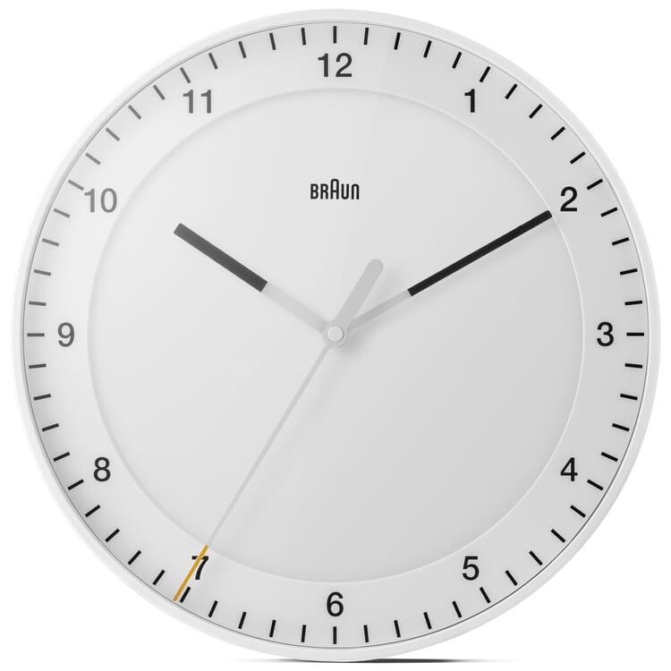 Analogue Wall Clock BRAUN, White