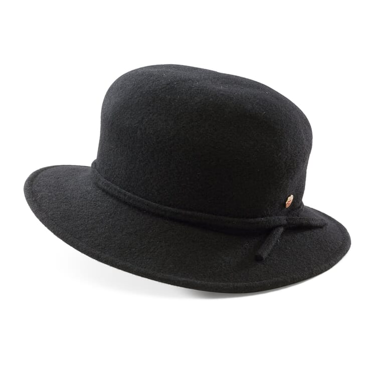 Women's Bowler Hat Made of Wool Felt by Mayser