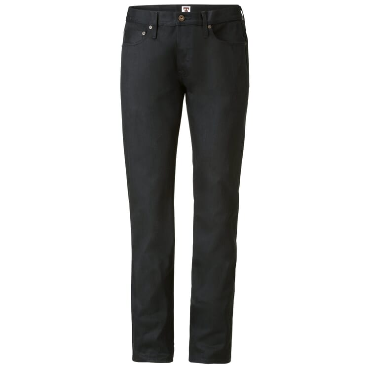 Tellason Herrenjeans Japan-Denim, Schwarz