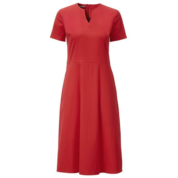 Manufactum Damenkleid Halbarm, Rot