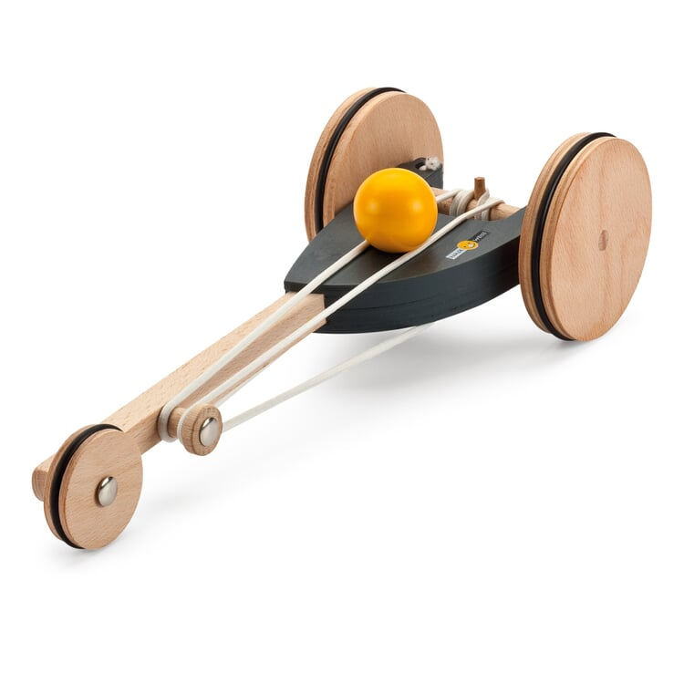 Rubber-Band Driven Racing Car