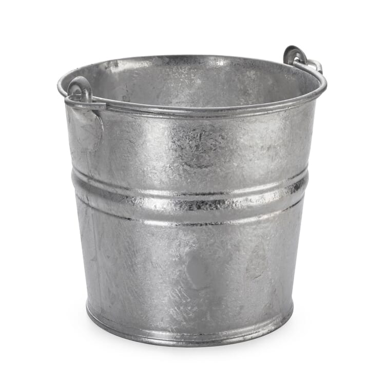 Small Galvanized Bucket