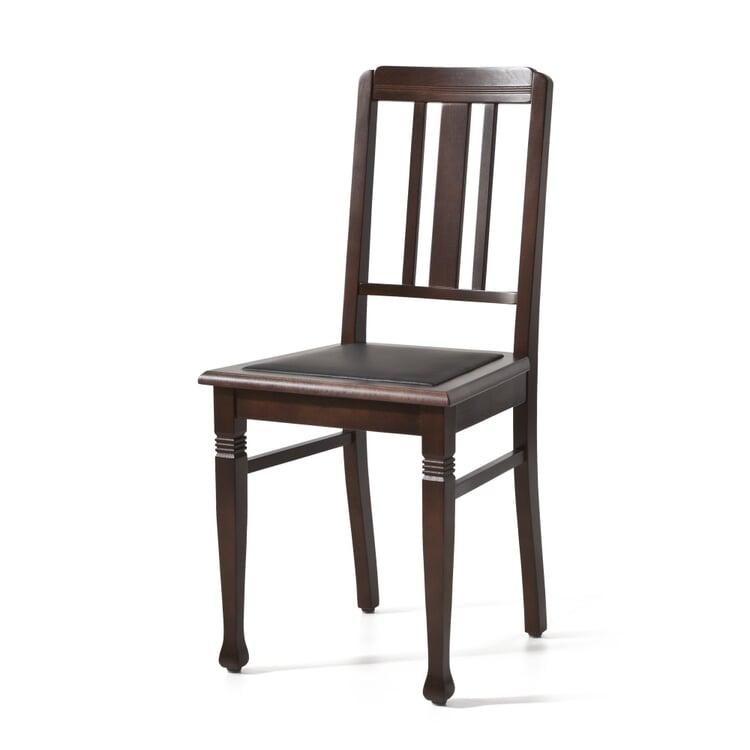Rabenauer Stuhl, Sitz Leder
