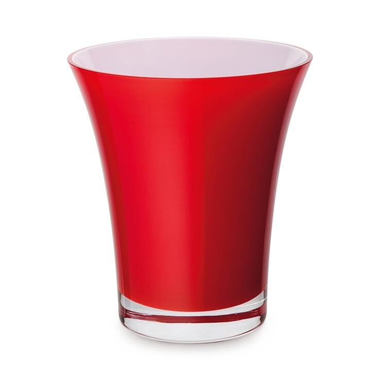 Red Harz Crystal Vase