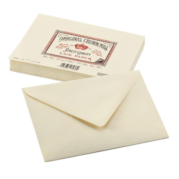 Correspondence Envelope, Crown Milll Vergé