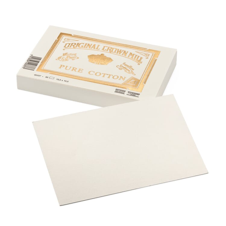 Correspondence Card, Crown Mill Cotton