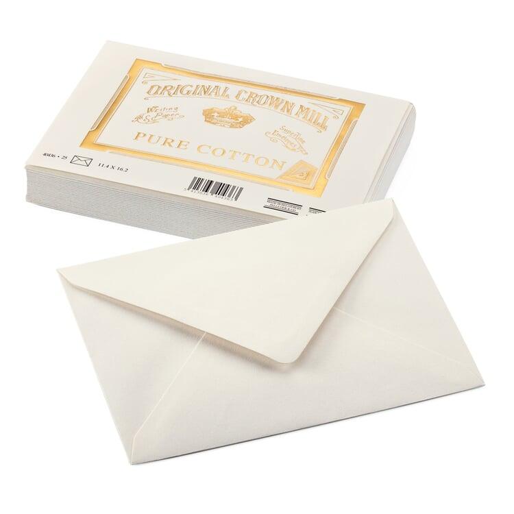 Correspondence Envelope Crown Mill Cotton