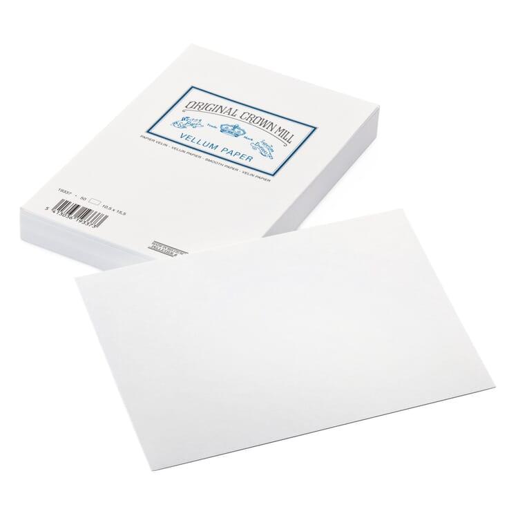 Correspondence Card, Crown Mill Velin