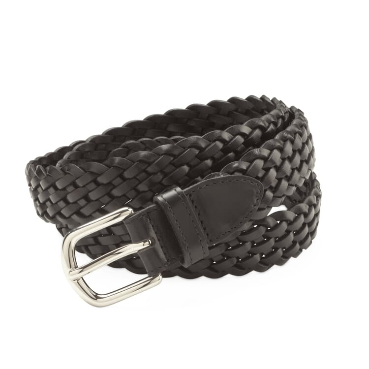 Schröder Braided Belt, Black