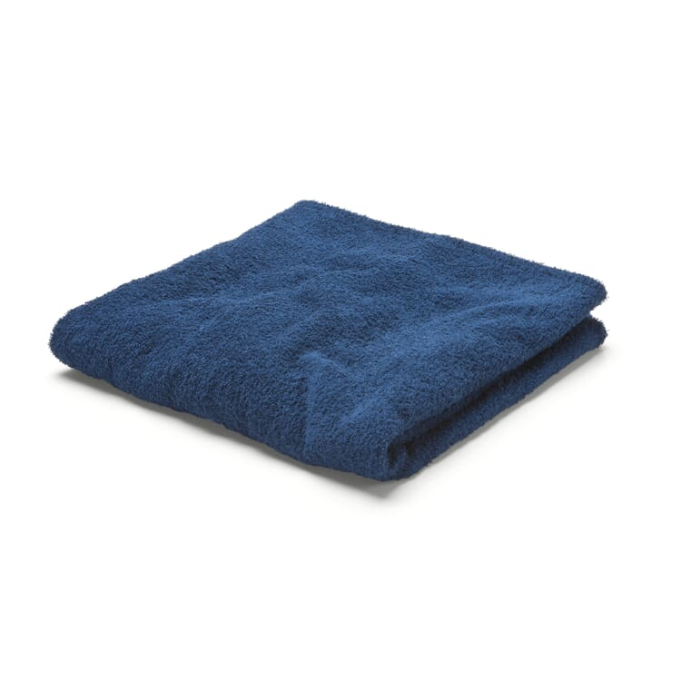 """Fitted Terrycloth Cover for Lounger """"XXL"""", Blue"""
