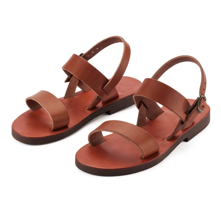 Benedictine Sandals for Men, Brown