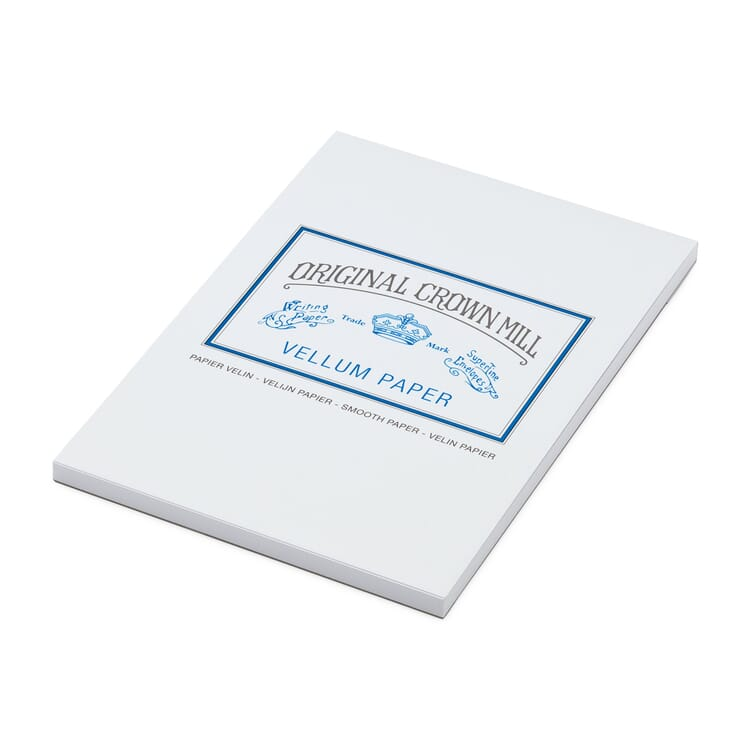 Writing Pad A5, Crown Mill Velin