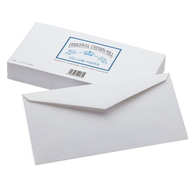 Envelope Long (25 Pieces) Crown Mill Velin