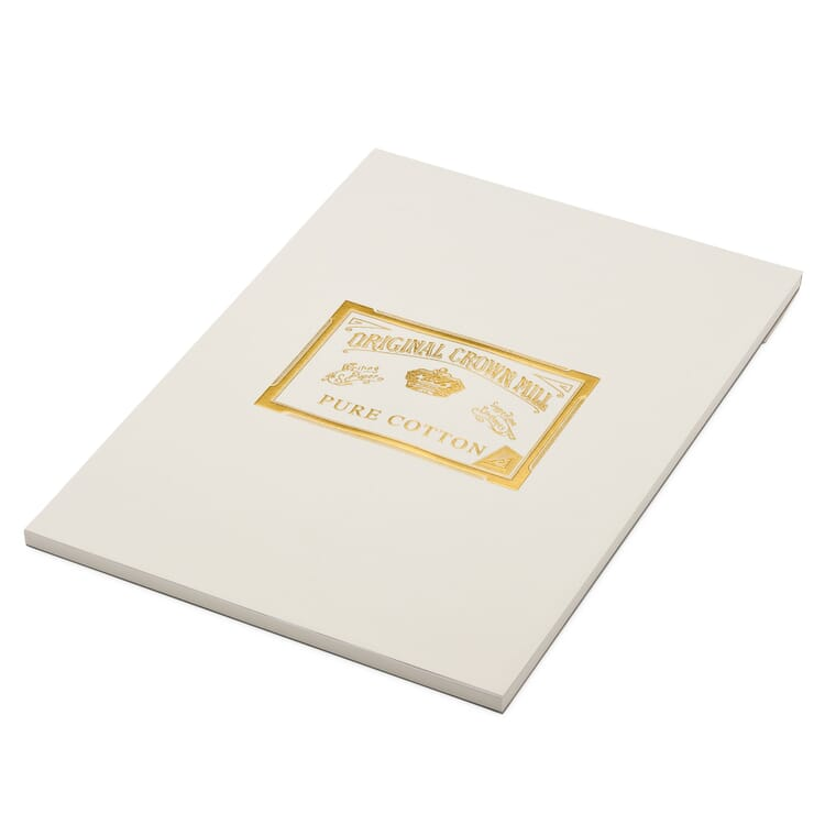 Writing Pad A4, Crown Mill Cotton