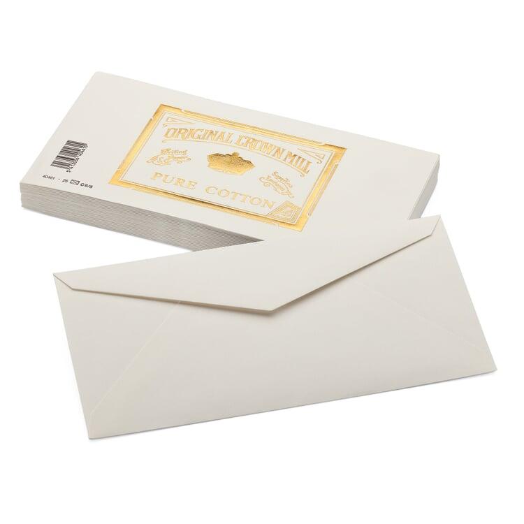 Envelope Long (25 Pieces) Crown Mill Cotton