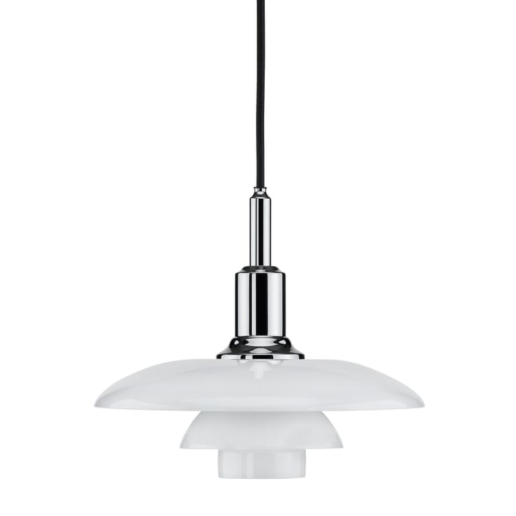 Pendant Lamp Opaline Glass PH 3/2 by Louis Poulsen
