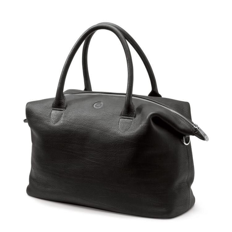 Sonnenleder Damentasche, Schwarz